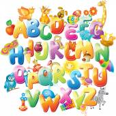 Fotografie abeceda pro děti s obrázky