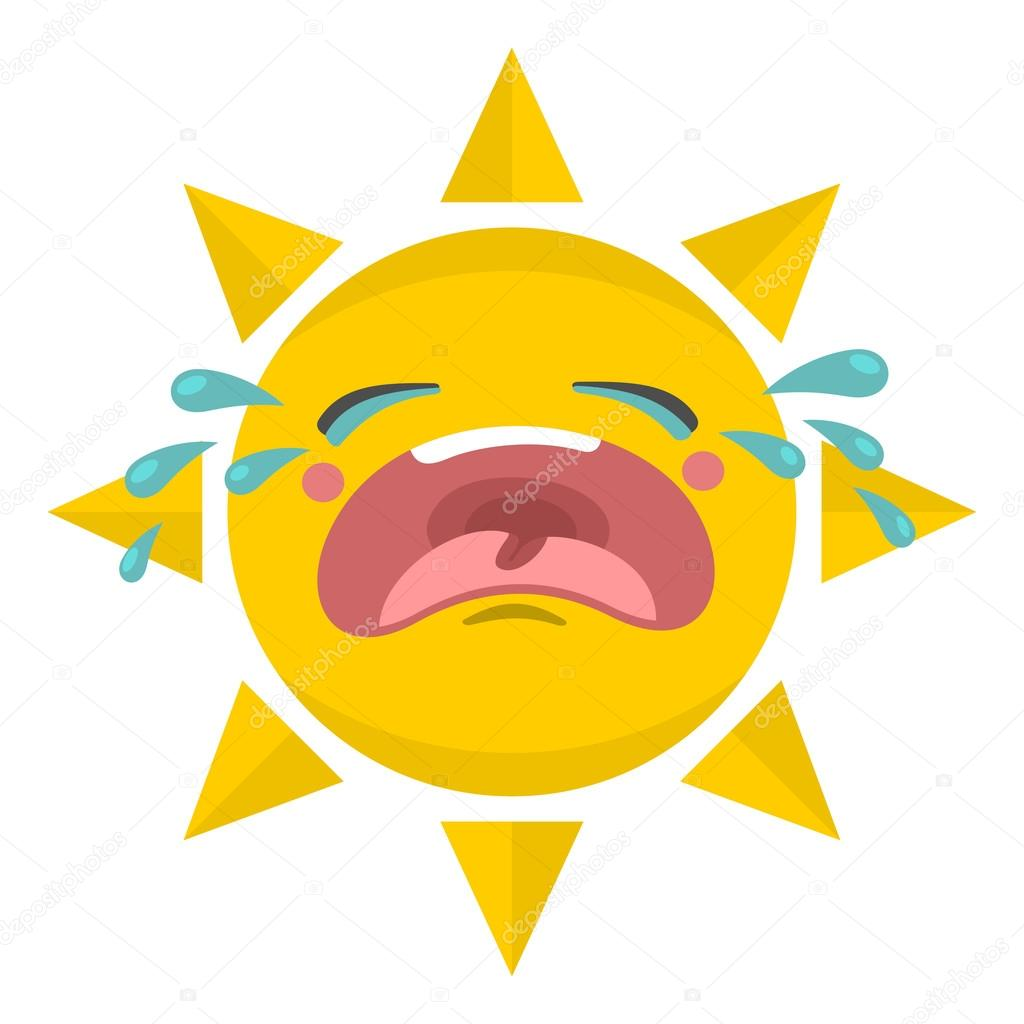 Cute sun illustration