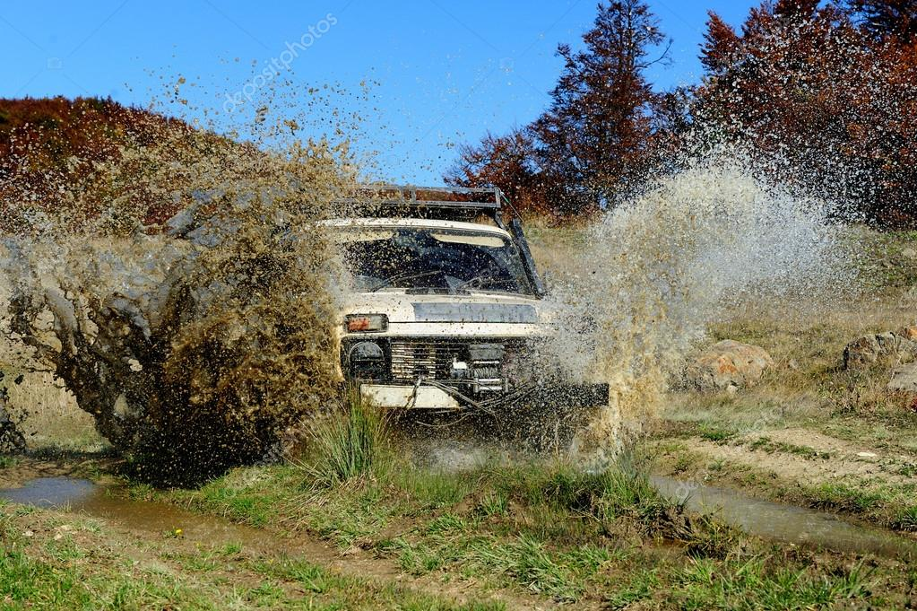 Extreme offroad car