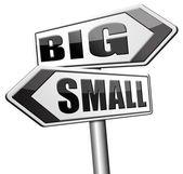 Velké nebo malé velikosti záleží