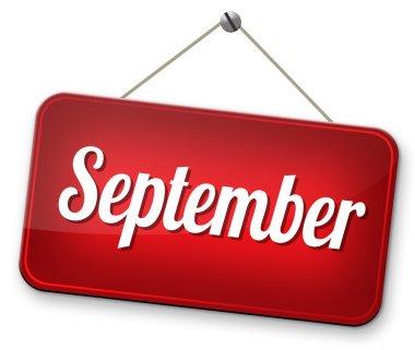 September sign