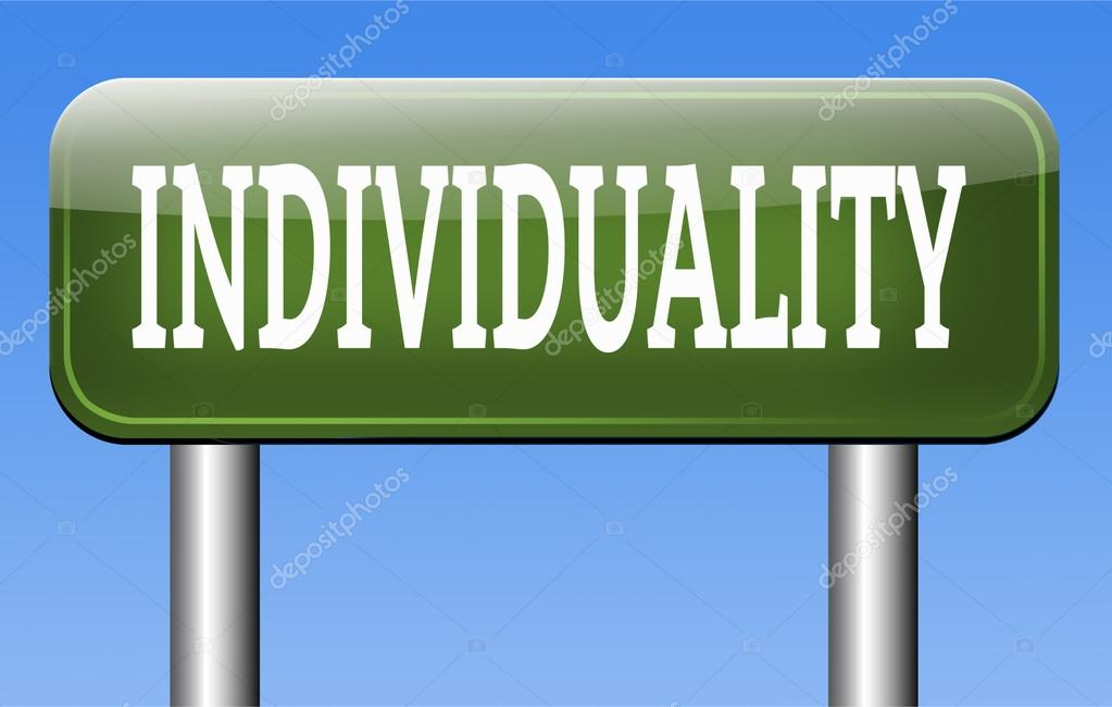 Individuality sign