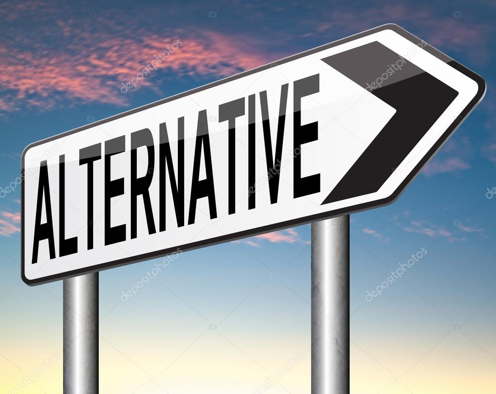 Alternative plan ⬇ Stock Photo, Image by © kikkerdirk #58737095
