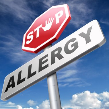 Stop allergies and allergic reactions