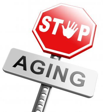 Stop aging sign