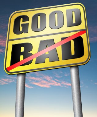 Good or bad sign