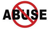 Fotografie Stoppschild für Missbrauch