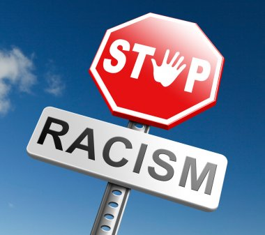 No racism sign