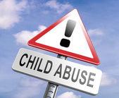 Fotografie Zeichen gegen Kindesmissbrauch