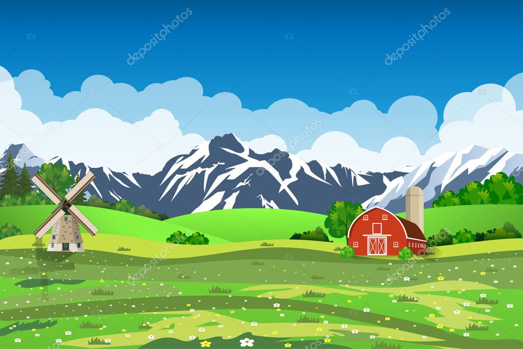 fazenda dos desenhos animados verde campo de semeadura clip art of mountains and skiing clip art of mountains and skiing