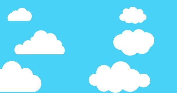 Rajzfilmfelhők lebegnek