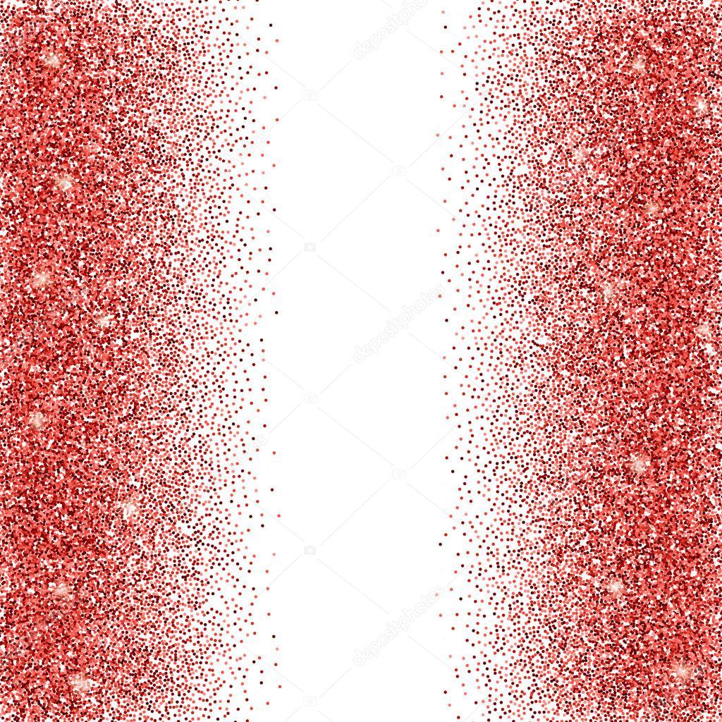 Illustrazione Brillantinato Rosso Sfondo Glitter Rosso