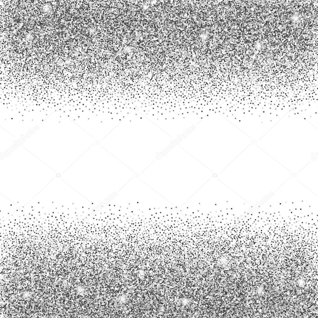 Illustrazione Sfondi Brillantinati Argento Sfondo Glitter Argento