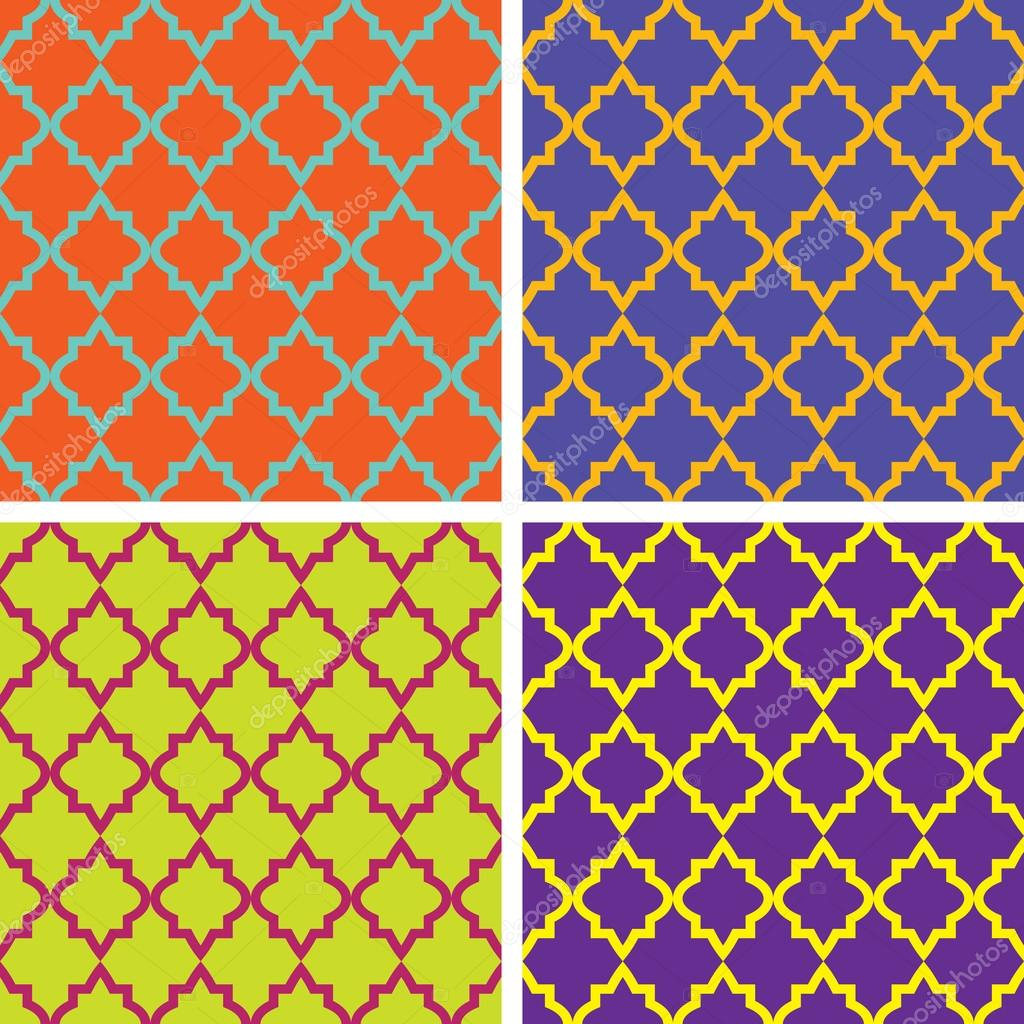 Seamless vintage patterns