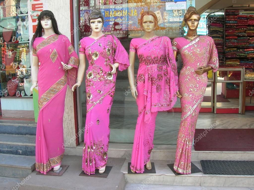 Maniquíes vestidos de última moda India Vestido de ssareed para las ...