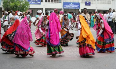 Indian Tribal lambada dance