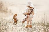 Fotografie Velký potkávání v poušti