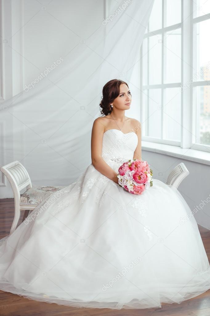 Mujeres con su vestido de novia