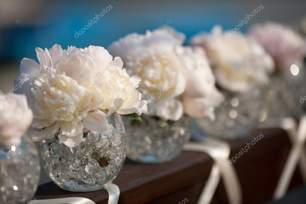 Wedding day flowers