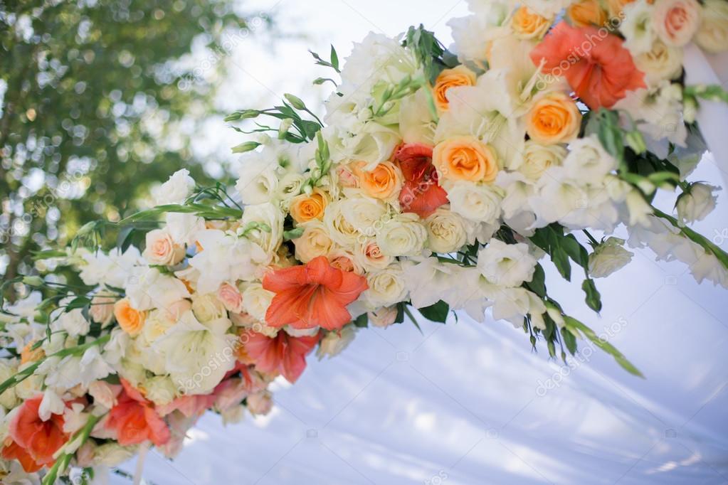Decorazioni Matrimonio Arancione : Decorazione fiori matrimonio u2014 foto stock © dimabl #63648353