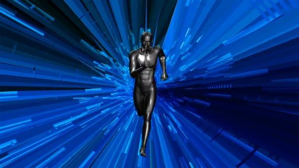 3D Animated anatomische männliches Modell Ausführung