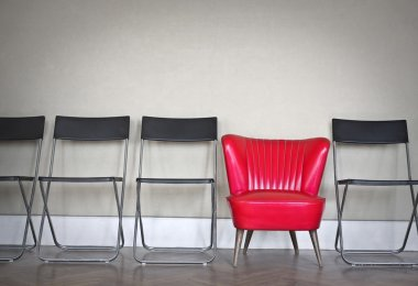 Different types of chairs