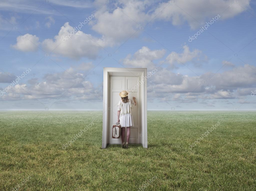 Door to the horizon