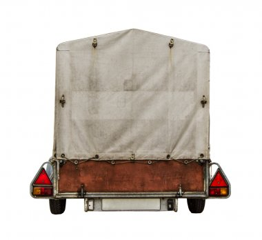 Car Trailer With Canvas
