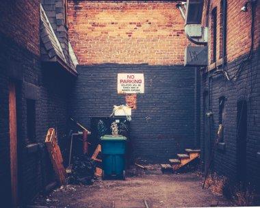 Grungy Urban Alley