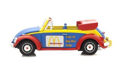 Corgi VW Beetle in McDonalds Logos