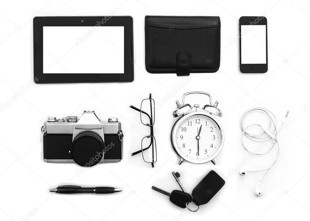 589f2770ab6f8 Modern Mans Essentials — Stock Photo © urbanbuzz  67469193