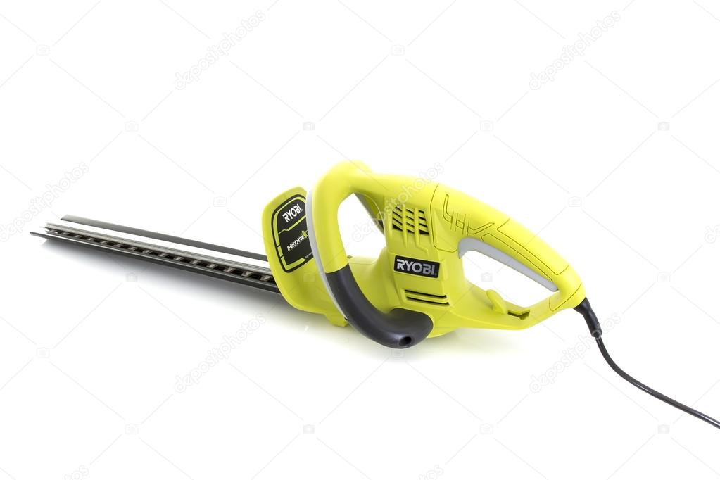 Ryobi Electric Hedge Trimmer Stock Editorial Photo C Urbanbuzz 84750862 String trimmer spool replacement for ryobi one plus ac14rl3a 18v 24v 40v 11ft 0.065 inch auto feed cordless eater spools line wi. ryobi electric hedge trimmer stock editorial photo c urbanbuzz 84750862