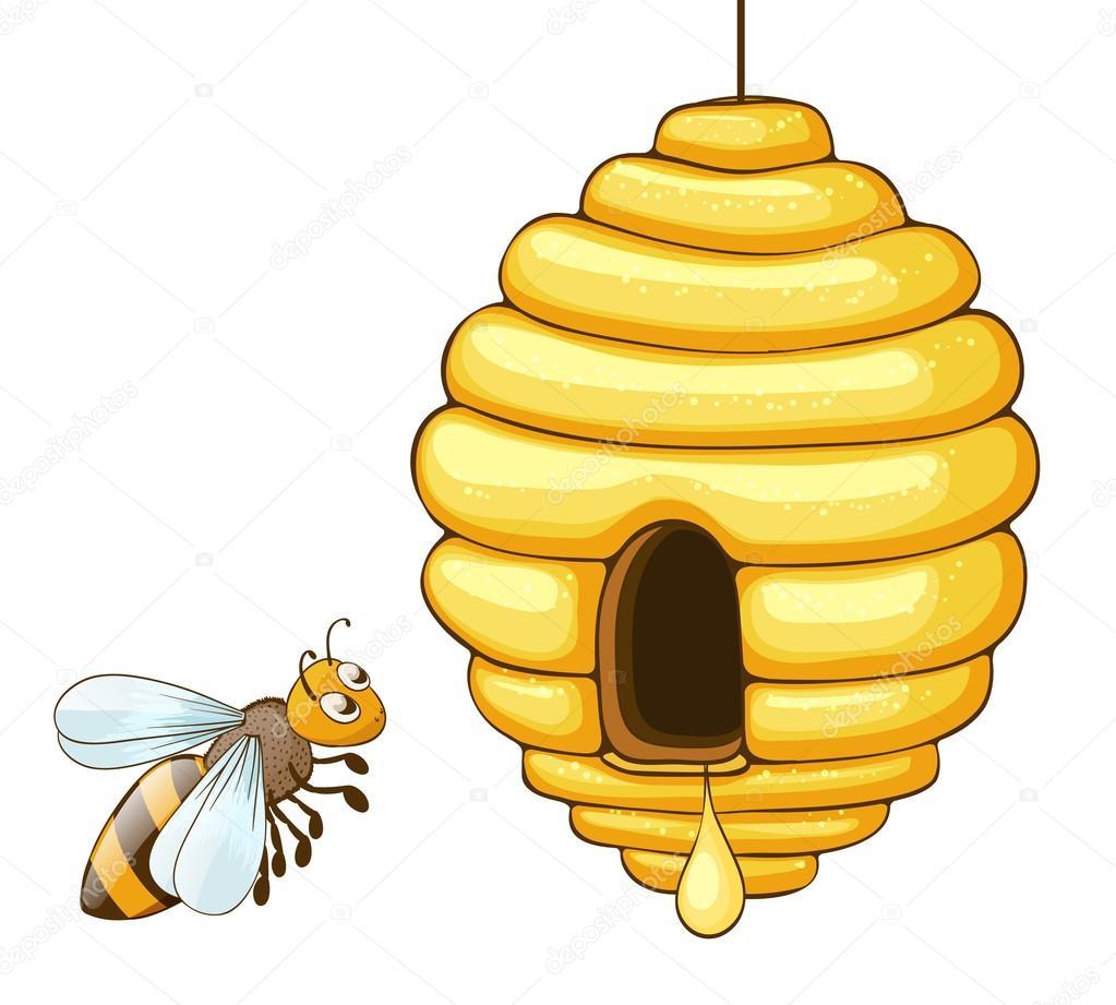 Attractif dessin abeille ruche ez03 humatraffin - Dessin de ruche d abeille ...