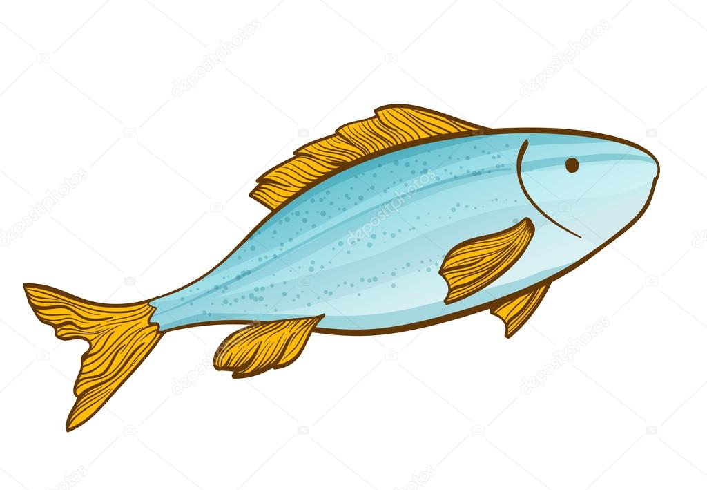 Dibujos Animados De Pescado En