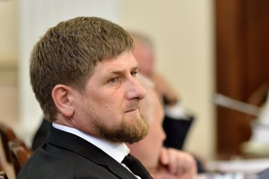 Ramzan Kadyrov at the state Council Presidium meeting