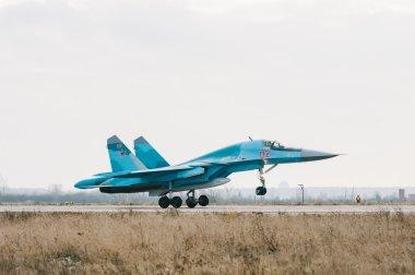 The su-34 ( NATO codification: Fullback) is a Russian multi-role fighter-bomber