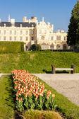 Lednicko palác se zahradou
