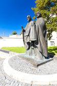 socha svatých Cyrila a Metoděje, nitra, Slovensko