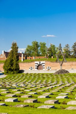 Small Fortress Theresienstadt with cemetery, Terezin