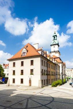 town hall of Jelenia Gora, Silesia