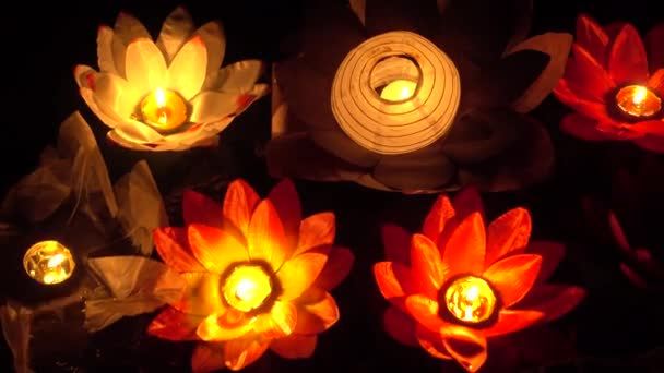 Origami lotus. Candle -Table decoration. 20 petal origami lotus ... | 342x608