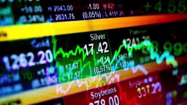 Absztrakt háttér részvényindexek és grafikonok