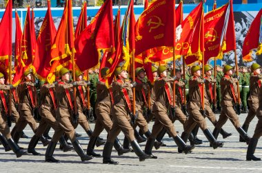 Military parade in Moscow, Russia, 2015
