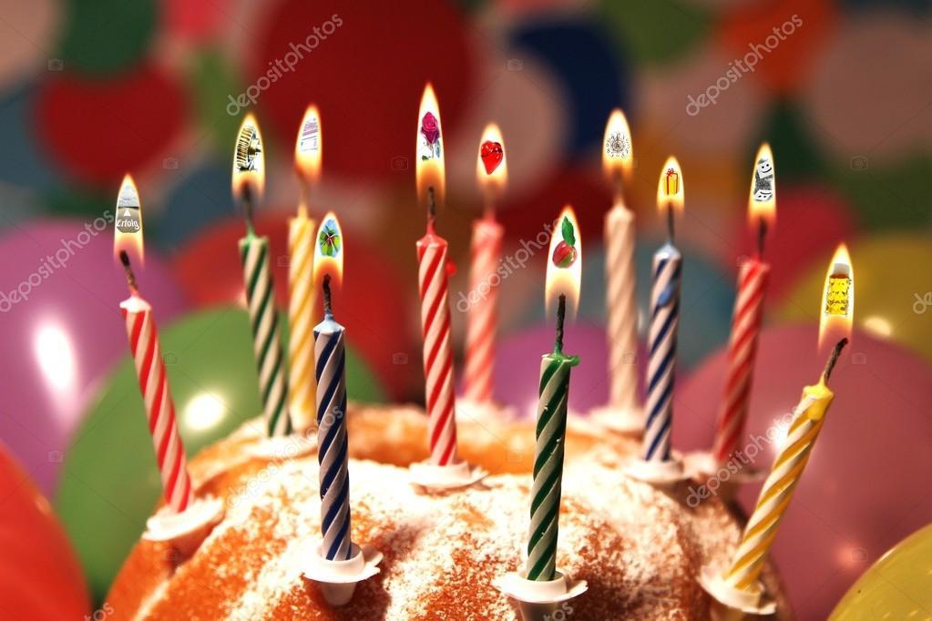 blahopřání k narozeninám v němčině Všechno nejlepší k narozeninám   symboly   němčina — Stock  blahopřání k narozeninám v němčině
