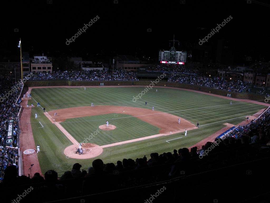 Wrigley Field Chicago Cubs Redaktionelles Stockfoto C Ffooter