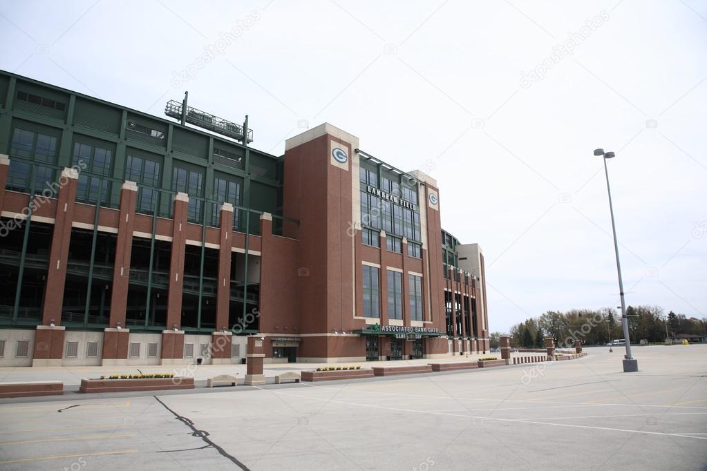 Lambeau Field - Green Bay Packers — Fotografia de Stock Editorial ...