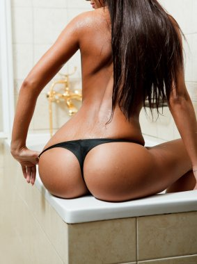 Erotic shot of woman with sexy ass