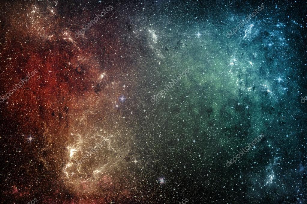 Estrellas De La Galaxia. Fondo De Universo
