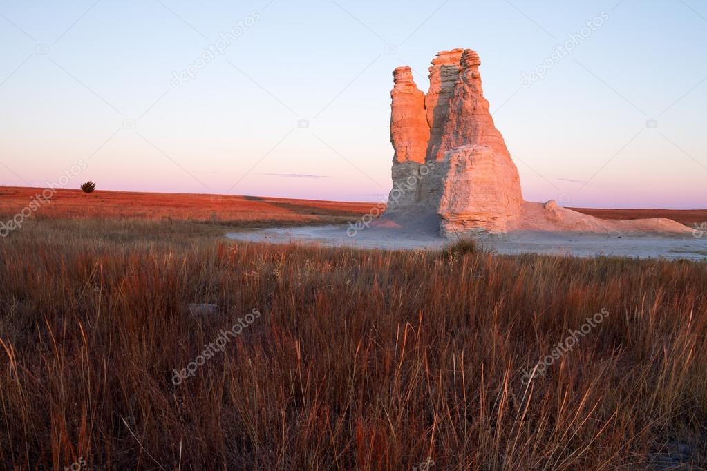 Castle Rock Sunrise Glow