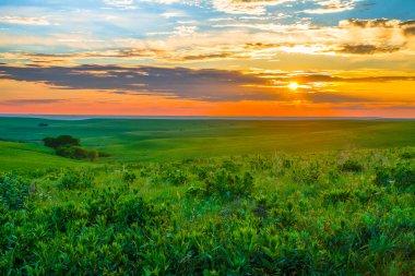Kansas Sunset in the Flint Hills